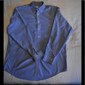 Men's brooks brothers oxford button down shirt